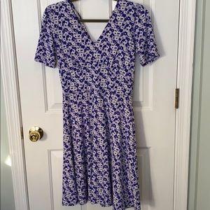 Michael Kors purple flower dress